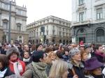 Milano, Piazza della Scala, 29 gennaio 2011