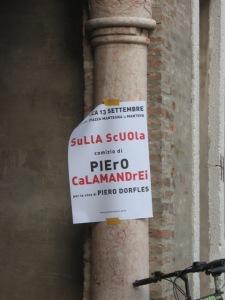 Sulla Scuola - Mantova 2009