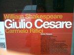 Locandina del Giulio Cesare @rosybattaglia @batblog