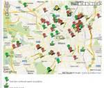 Mappa dei beni confiscati alla mafia a Milano